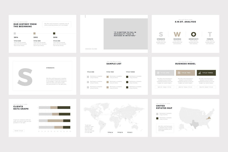 Meiryo Minimalist PowerPoint Template - TheSlideQuest