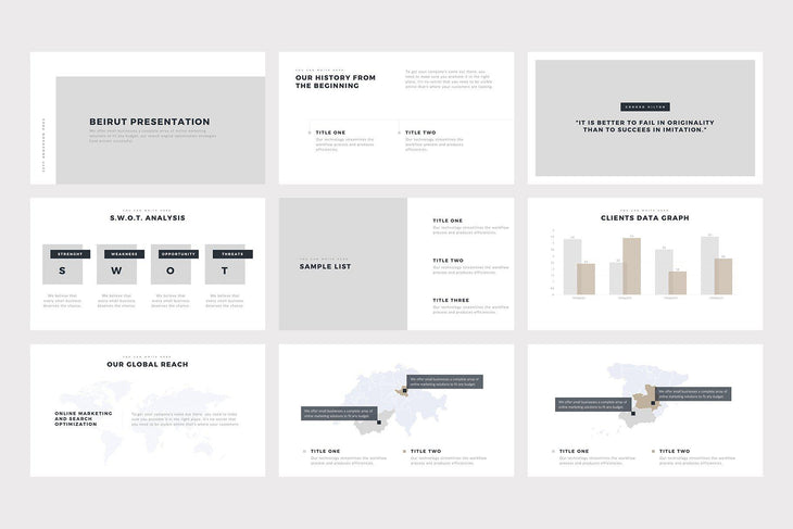 SMPL PowerPoint Template - TheSlideQuest