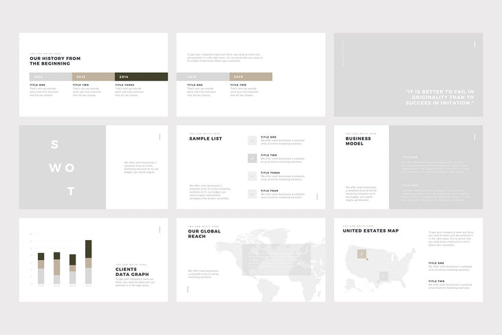 Geneva PowerPoint Template - TheSlideQuest
