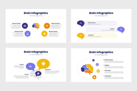 Brain Infographics Template PowerPoint Keynote Google Slides PPT KEY GS