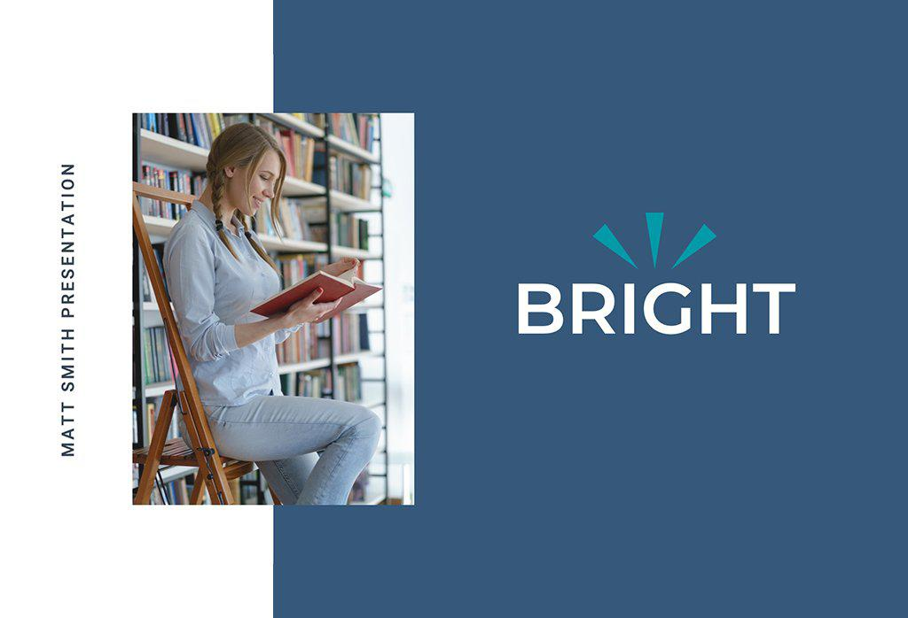 Bright Education PowerPoint Template