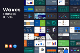 WAVES Finance Presentation Templates Bundle