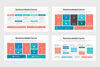 Business Model Canva Infographics