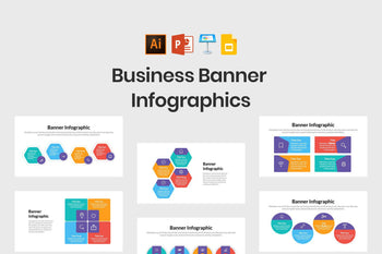 Business Banner Infographics-PowerPoint Template, Keynote Template, Google Slides Template PPT Infographics -Slidequest