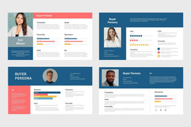 Buyer Persona-PowerPoint Template, Keynote Template, Google Slides Template PPT Infographics -Slidequest