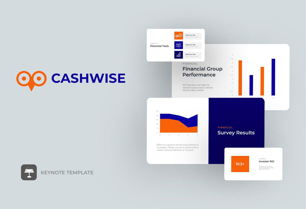 Cashwise Finance Keynote Template