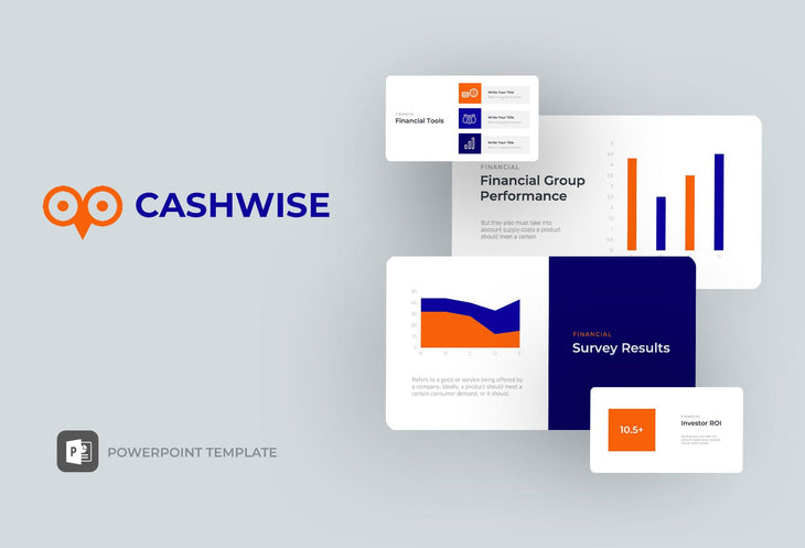 Cashwise Finance PowerPoint Template-PowerPoint Template, Keynote Template, Google Slides Template PPT Infographics -Slidequest