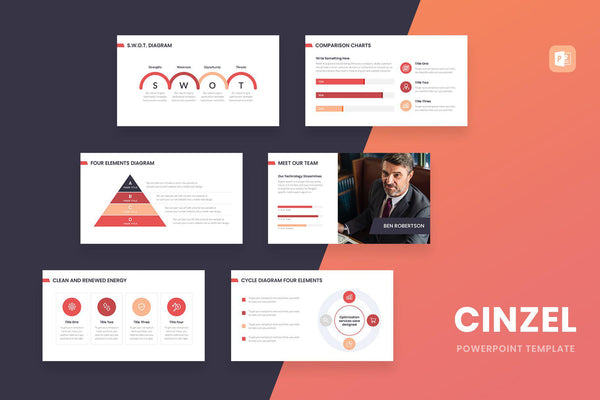 Cinzel PowerPoint Template