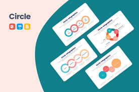 Circle Infographics-PowerPoint Template, Keynote Template, Google Slides Template PPT Infographics -Slidequest