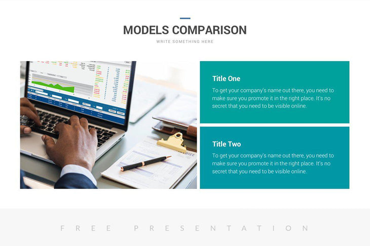 Comersa Free Pitch Deck Presentation Template - TheSlideQuest