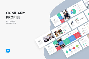 Company Profile Keynote Template-PowerPoint Template, Keynote Template, Google Slides Template PPT Infographics -Slidequest