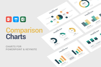 Comparison Charts-PowerPoint Template, Keynote Template, Google Slides Template PPT Infographics -Slidequest