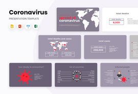 Spread of Coronavirus Presentation Template