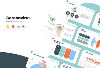 Spread of COVID-19 Presentation Template-PowerPoint Template, Keynote Template, Google Slides Template PPT Infographics -Slidequest