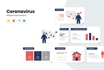 United States Coronavirus Presentation Template-PowerPoint Template, Keynote Template, Google Slides Template PPT Infographics -Slidequest
