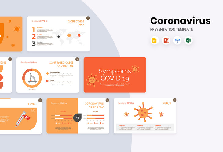 Symptoms COVID 19 Presentation Template