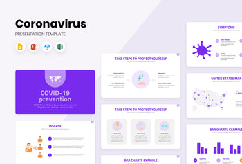 COVID 19 Prevention Presentation Template-PowerPoint Template, Keynote Template, Google Slides Template PPT Infographics -Slidequest