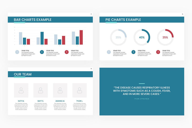 COVID 19 Overview Presentation Template