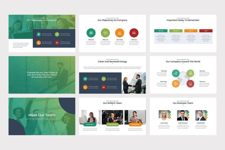 Corpo PowerPoint Template - TheSlideQuest