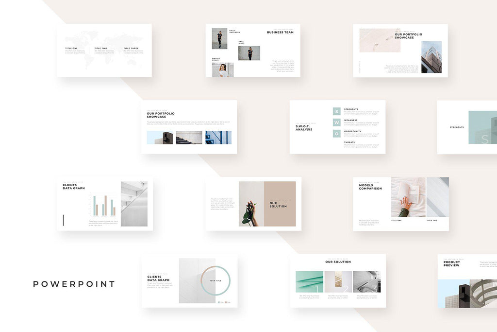 Menlo PowerPoint Template