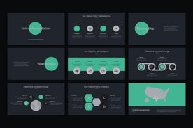 Atom PowerPoint Template - TheSlideQuest