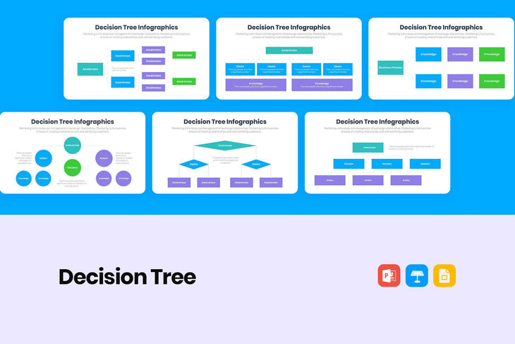 Decision Tree Infographics-PowerPoint Template, Keynote Template, Google Slides Template PPT Infographics -Slidequest