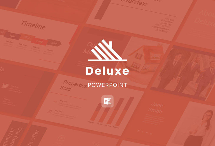 Deluxe Real Estate PowerPoint Template