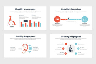 Disability Infographics Template
