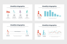 Disability Infographics Template PowerPoint Keynote Google Slides PPT KEY GS