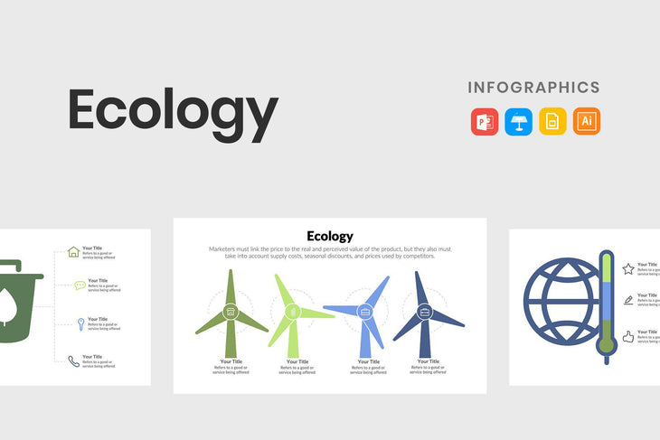 Ecology Infographics Template-PowerPoint Template, Keynote Template, Google Slides Template PPT Infographics -Slidequest