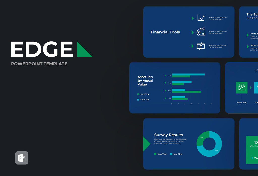 Edge Finance PowerPoint Template