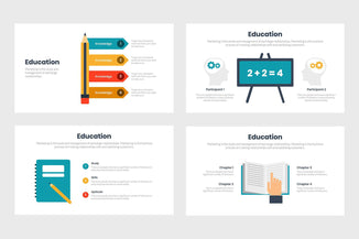 Education Diagrams Template
