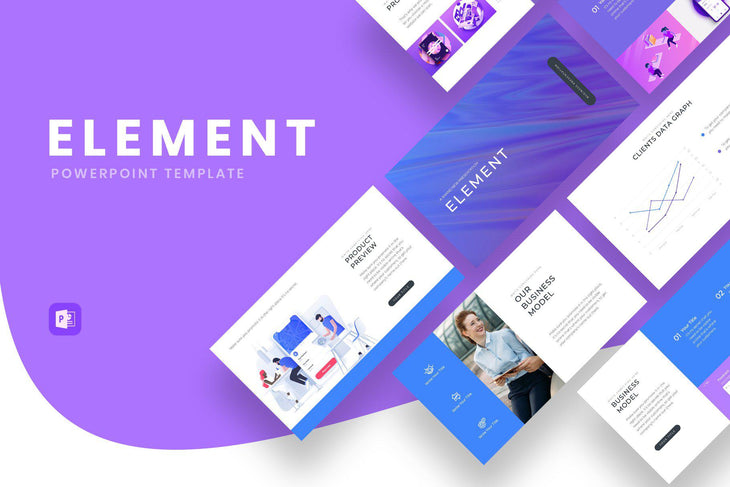 Element Business PowerPoint Template - TheSlideQuest