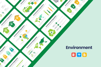 Environment Infographics-PowerPoint Template, Keynote Template, Google Slides Template PPT Infographics -Slidequest