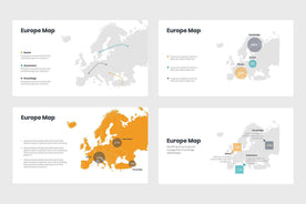 Europe Map-PowerPoint Template, Keynote Template, Google Slides Template PPT Infographics -Slidequest