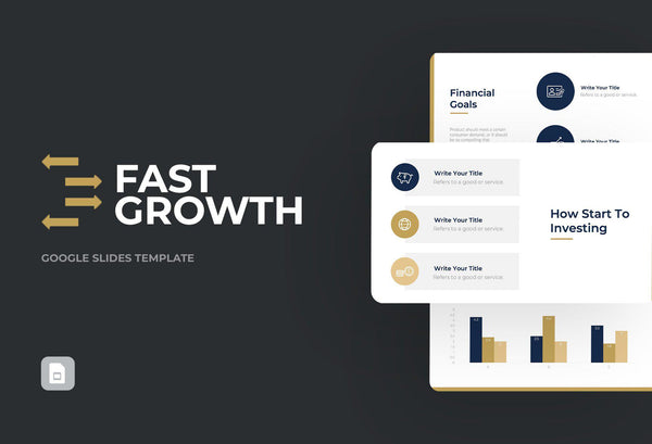 Fast Growth Finance Google Slides