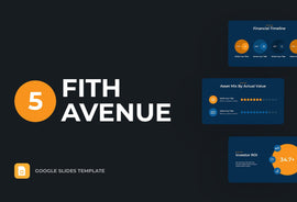 Fifth Avenue Finance Google Slides