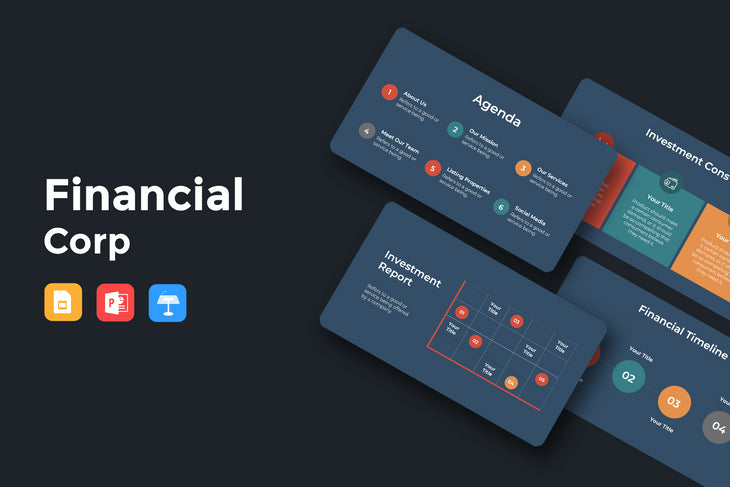 NEST Finance Presentation Templates Bundle