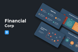 Financial Corp Finance Keynote Template-PowerPoint Template, Keynote Template, Google Slides Template PPT Infographics -Slidequest
