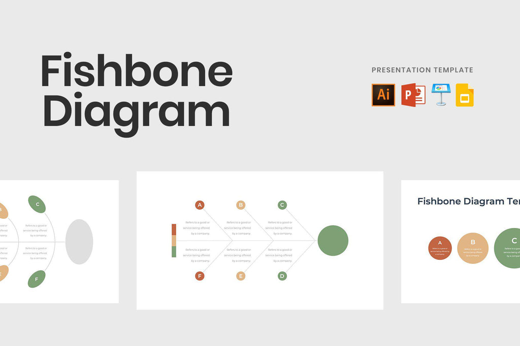 Fishbone Diagram Presentation Template - TheSlideQuest