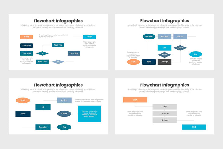 Flowchart Infographics Template