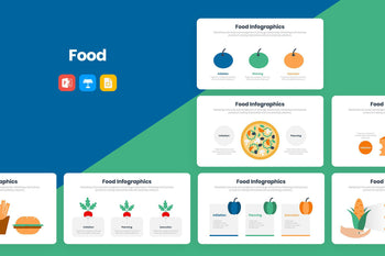 Food Infographics-PowerPoint Template, Keynote Template, Google Slides Template PPT Infographics -Slidequest