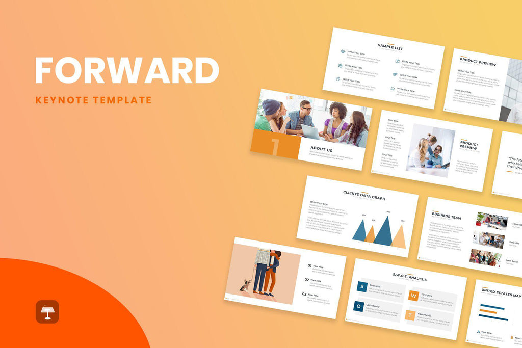 Forward Business Keynote Template