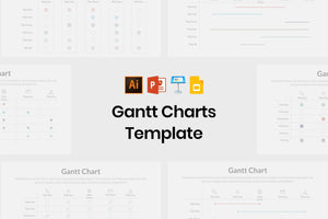 Gantt Chart Template - TheSlideQuest