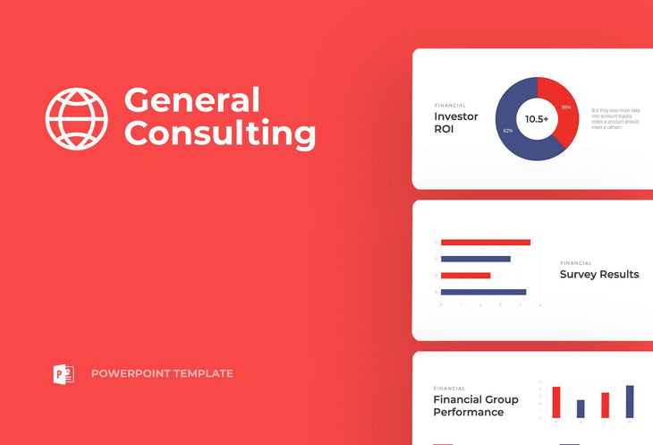 General Consulting Finance PowerPoint Template