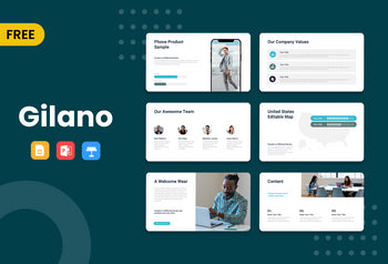 Gilano Free Presentation Template-PowerPoint Template, Keynote Template, Google Slides Template PPT Infographics -Slidequest