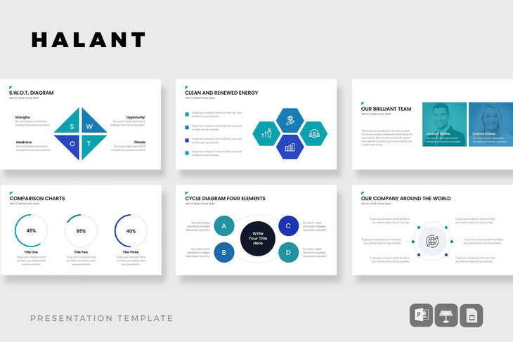PHOENIX Presentation Template Bundle-PowerPoint Template, Keynote Template, Google Slides Template PPT Infographics -Slidequest