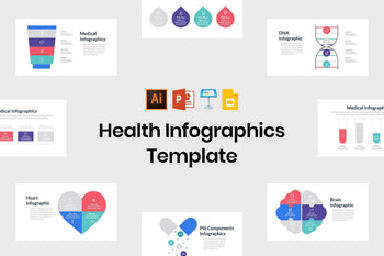 Health Infographics Template - TheSlideQuest