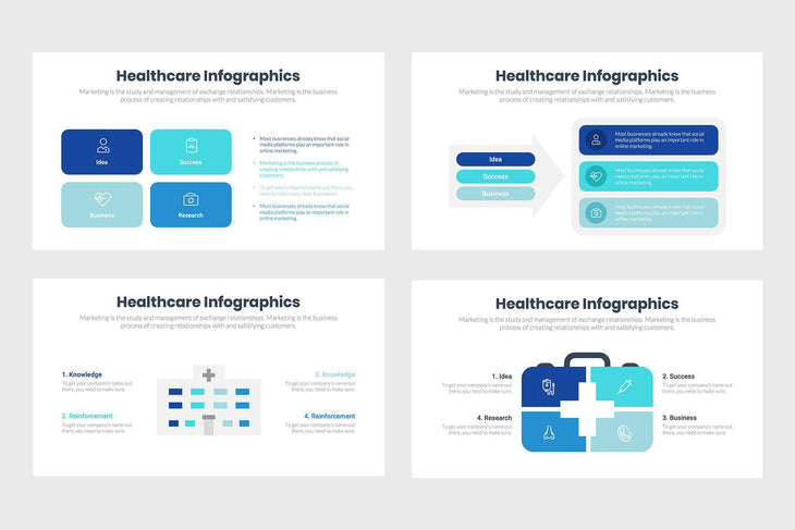 Healthcare Infographics-PowerPoint Template, Keynote Template, Google Slides Template PPT Infographics -Slidequest