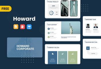Howard Free Presentation Templates-PowerPoint Template, Keynote Template, Google Slides Template PPT Infographics -Slidequest